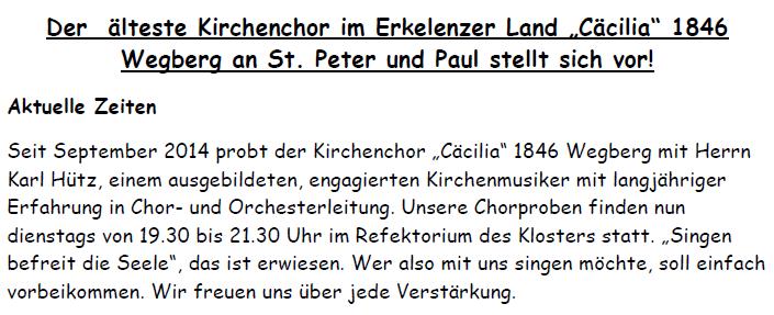 001___Vorstellung---Kirchenchor-Wegberg