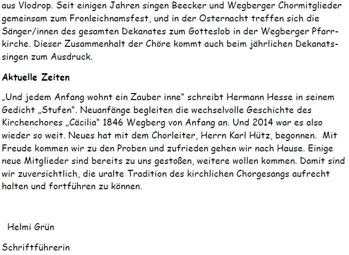 013___Vorstellung---Kirchenchor-Wegberg