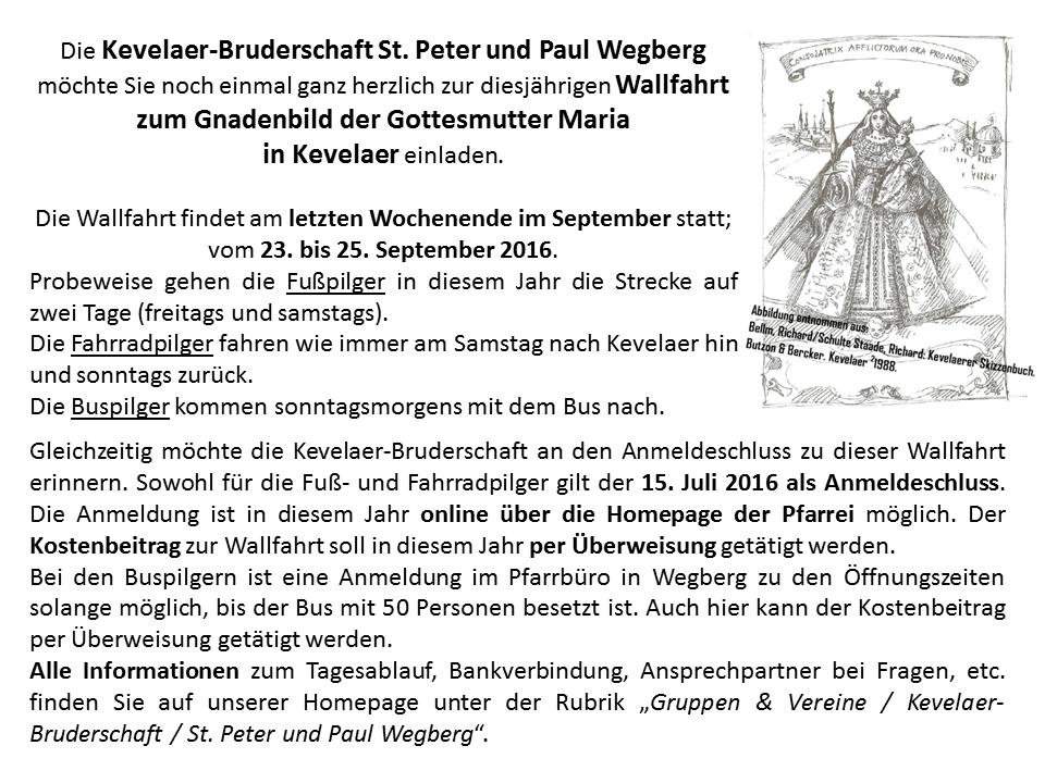2016-07-15___Anmeldeschluss-Kevelaer___Homepage